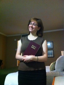 What to do with a Gideon Bible?