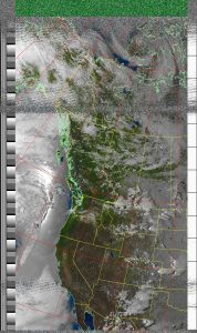 Here is a weather satellite image I captured at CQNW this year! -Sam